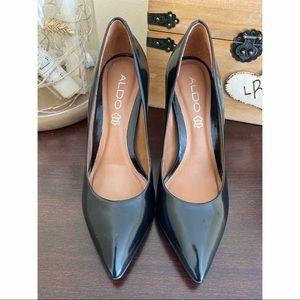 Aldo Shoes - Aldo Black Patent Leather Pumps
